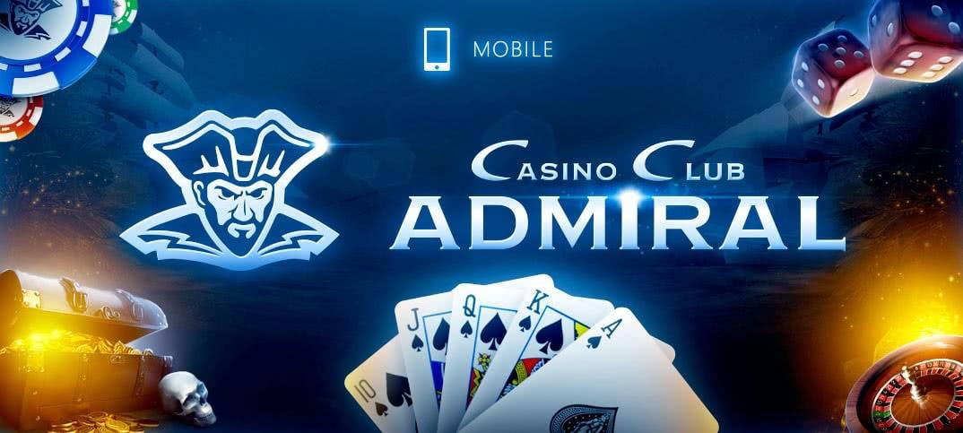 Казино Адмирал мобильная версия